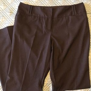 The Limited Cassidy Fit Brown Slacks